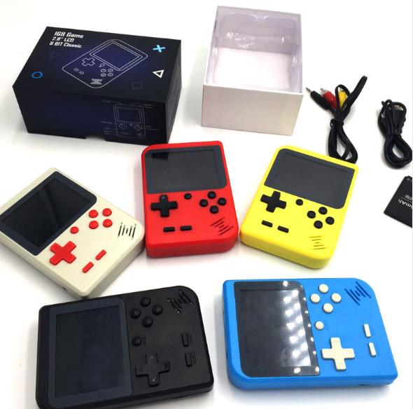 厂家新款迷你游戏机NES怀旧游戏机GBA大屏掌上PSP掌机168款游戏 5