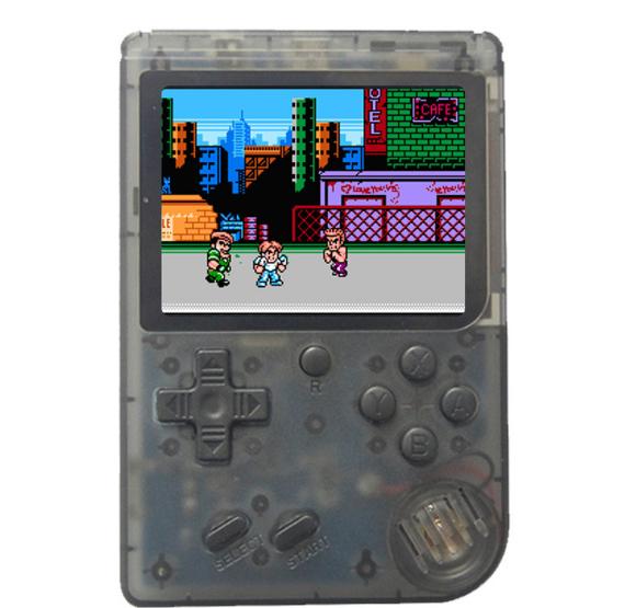 厂家新款迷你游戏机NES怀旧游戏机GBA大屏掌上PSP掌机168款游戏 13