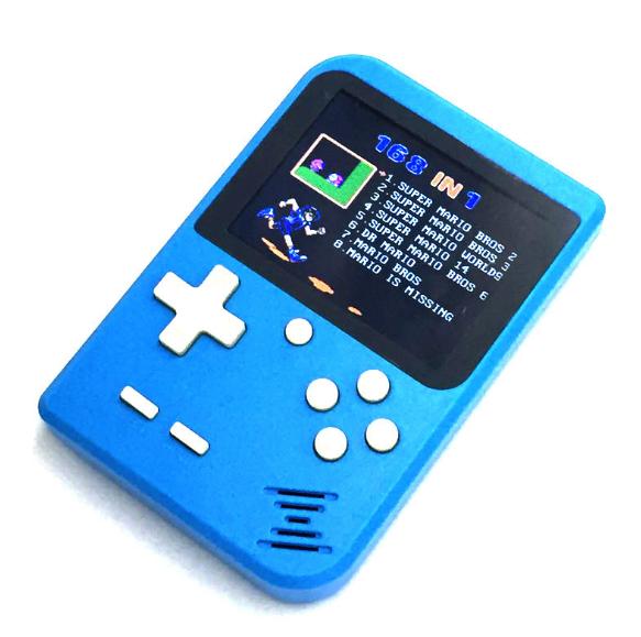 厂家新款迷你游戏机NES怀旧游戏机GBA大屏掌上PSP掌机168款游戏 14