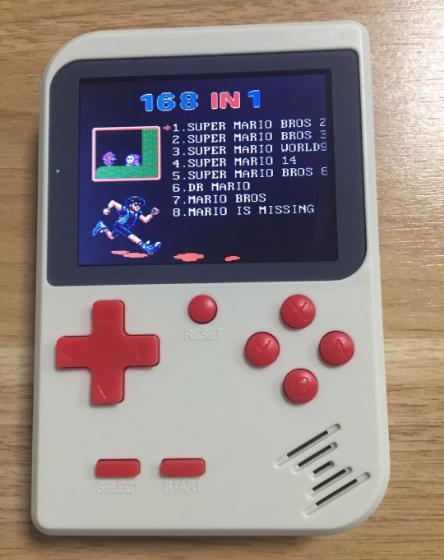 廠家新款迷你遊戲機NES懷舊遊戲機GBA大屏掌上PSP掌機168款遊戲 1
