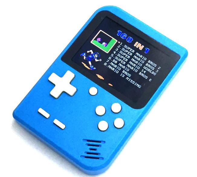 厂家新款迷你游戏机NES怀旧游戏机GBA大屏掌上PSP掌机168款游戏 19