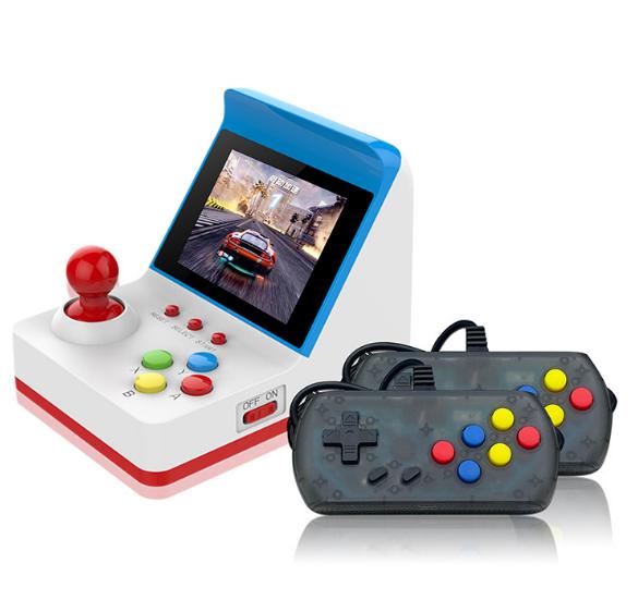 新款怀旧双人对打Retro Arcade模拟街机 外贸款4.3寸3000款游戏 1