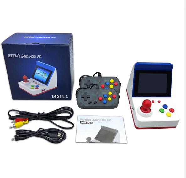 新款怀旧双人对打Retro Arcade模拟街机 外贸款4.3寸3000款游戏 2