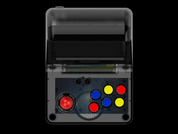 新款怀旧双人对打Retro Arcade模拟街机 外贸款4.3寸3000款游戏 7