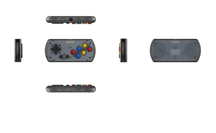新款怀旧双人对打Retro Arcade模拟街机 外贸款4.3寸3000款游戏 8