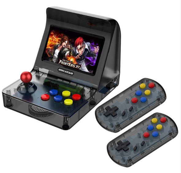 新款怀旧双人对打Retro Arcade模拟街机 外贸款4.3寸3000款游戏 9