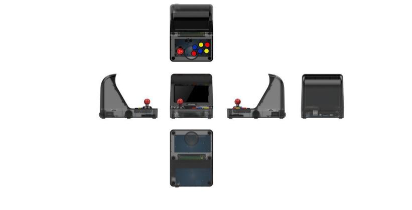 新款怀旧双人对打Retro Arcade模拟街机 外贸款4.3寸3000款游戏 10