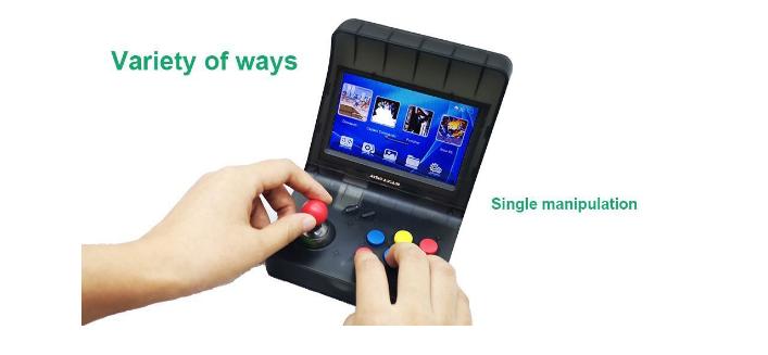 新款怀旧双人对打Retro Arcade模拟街机 外贸款4.3寸3000款游戏 15