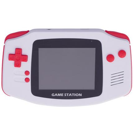 新款经典迷你GB内置300款FC红白机游戏掌机支持双打手柄 3