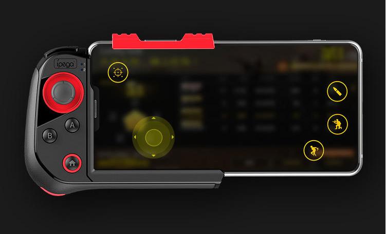 PG-9121紅蜘蛛單手無線藍牙遊戲手柄吃雞遊戲IOS安卓即連即玩手柄 11