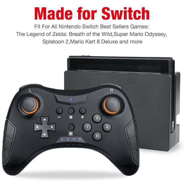 switch迷你無線手柄 NS藍牙手柄控制器 帶NFC藍牙 16