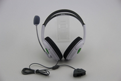 XBOX360双边大耳机 XBOX360耳麦 XBOX360