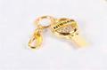 廠家直銷 高檔珠寶U盤 汽車行業禮品U盤 促銷鑰匙扣車標8GU盤 6