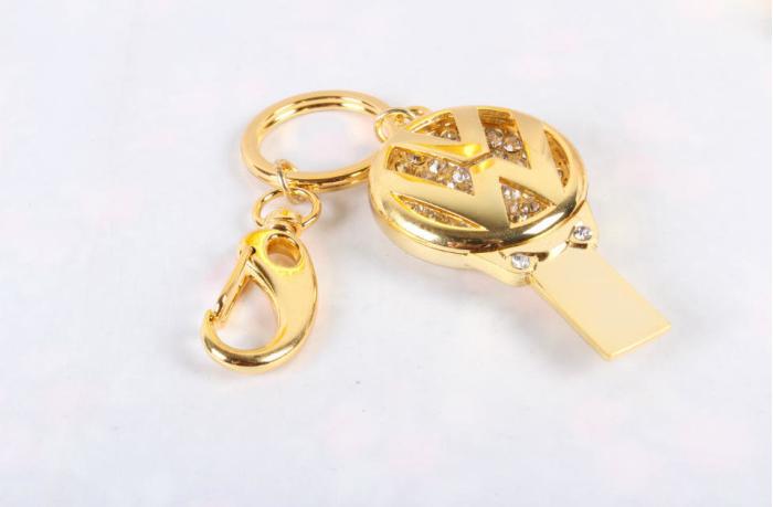 廠家直銷 高檔珠寶U盤 汽車行業禮品U盤 促銷鑰匙扣車標8GU盤 15