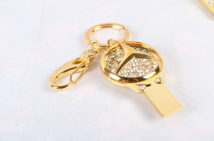 廠家直銷 高檔珠寶U盤 汽車行業禮品U盤 促銷鑰匙扣車標8GU盤 20