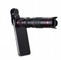 10合一 8X12X长焦手机通用镜头 12倍望远镜 广角微距鱼眼自拍杆 12