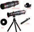 10合一 8X12X长焦手机通用镜头 12倍望远镜 广角微距鱼眼自拍杆 13