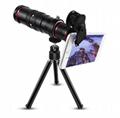 10合一 8X12X长焦手机通用镜头 12倍望远镜 广角微距鱼眼自拍杆 16