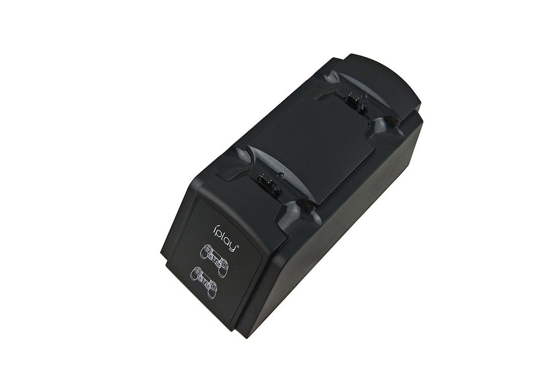 PS4手柄雙座充 ps4手柄七彩雙充支架 無線遊戲手柄座充電底座 8