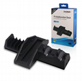 PS4 handle double seat charger ps4 handle colorful double charge bracket