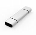 New Type-c card reader usb3.0 otg mobile phone card reader aluminum alloy
