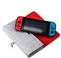 新款任天堂switch便携手拿毛毡软包switch主机保护包switch收纳包 4