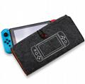 新款任天堂switch便携手拿毛毡软包switch主机保护包switch收纳包 11