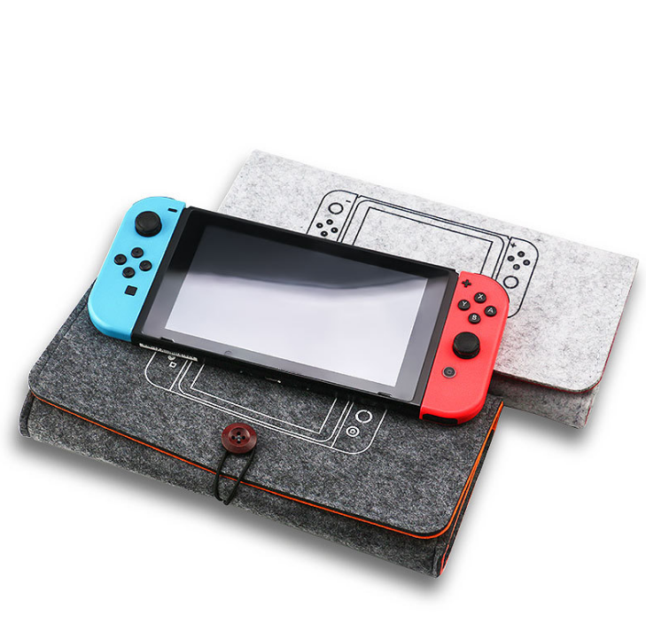 新款任天堂switch便携手拿毛毡软包switch主机保护包switch收纳包 20