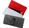 新款任天堂switch便携手拿毛毡软包switch主机保护包switch收纳包 13