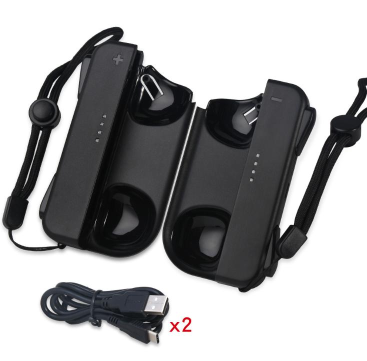 DOBE TNS-1729 Nintendo switch 充電手把 一對 黑色 1