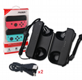 DOBE TNS-1729 Nintendo switch 充電手把 一對 黑色 2