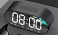 新款P1镜面闹钟蓝牙音箱家用办公收音机手机插卡电脑音响 12