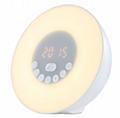 新款P1镜面闹钟蓝牙音箱家用办公收音机手机插卡电脑音响 15