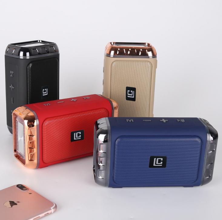厂家直销新款i3火焰灯蓝牙音箱创意电脑迷你低音炮智能户外音响 13