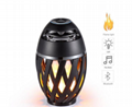 new i3 flame light bluetooth speaker creative computer minioutdoor audio