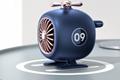 新款藍牙音箱直升機創意便攜低音炮迷你可愛戶外無線飛機音響 1