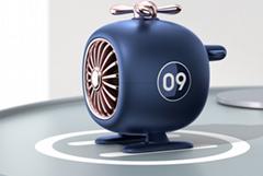 新款藍牙音箱直升機創意便攜低音炮迷你可愛戶外無線飛機音響