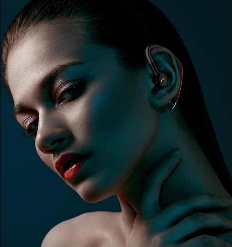 新款F900商务蓝牙耳机 5.0来电报姓名超长待机 运动商务蓝牙耳机 4