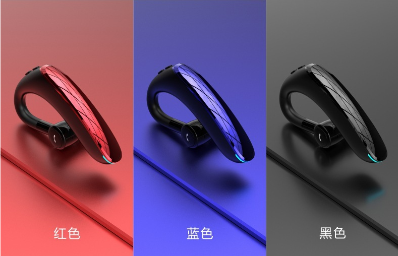 新款F900商务蓝牙耳机 5.0来电报姓名超长待机 运动商务蓝牙耳机 12