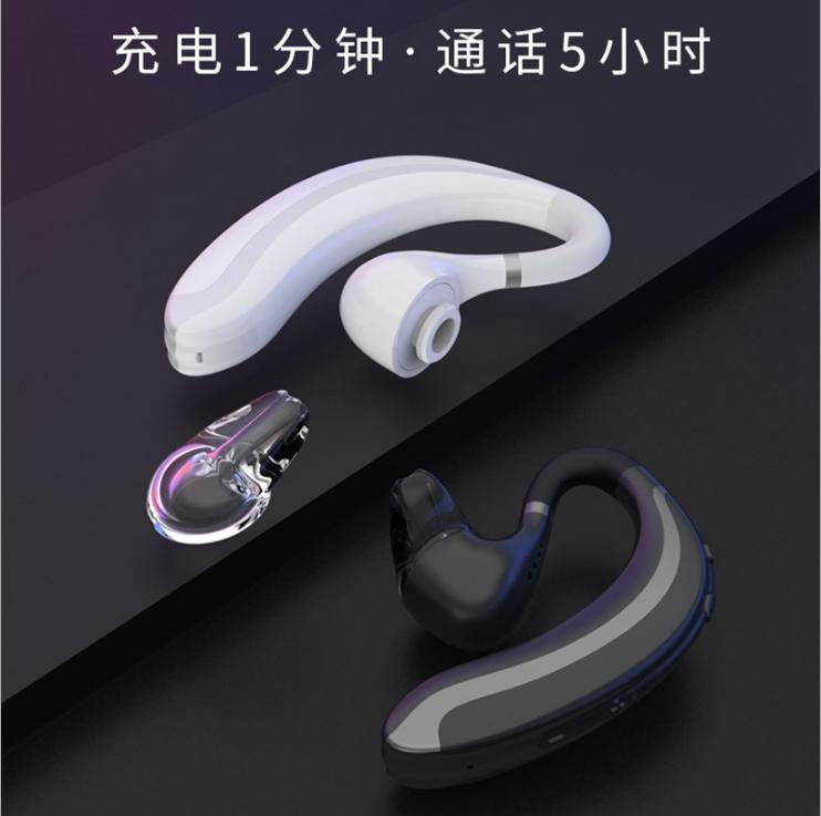 新款F900商务蓝牙耳机 5.0来电报姓名超长待机 运动商务蓝牙耳机 14