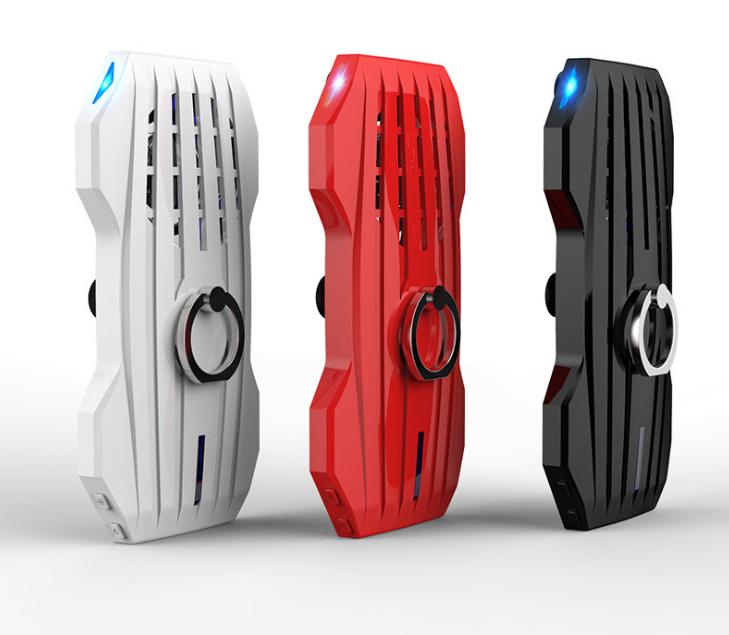 新款吃鸡神器手机散热器自带充电手机支架便携降温散热器 3
