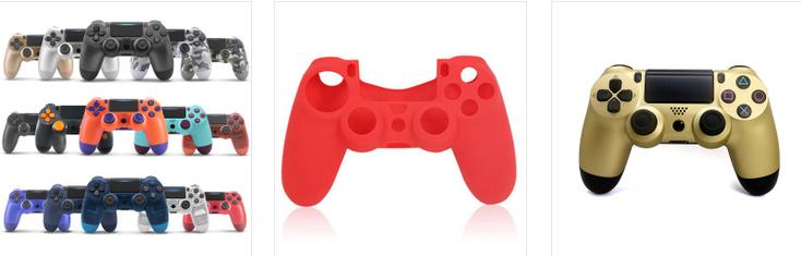PS4游戏手柄二代带灯条蓝牙4.0新款无线手柄PS4蓝牙游戏手柄 4