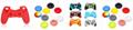 PS4游戏手柄二代带灯条蓝牙4.0新款无线手柄PS4蓝牙游戏手柄 6