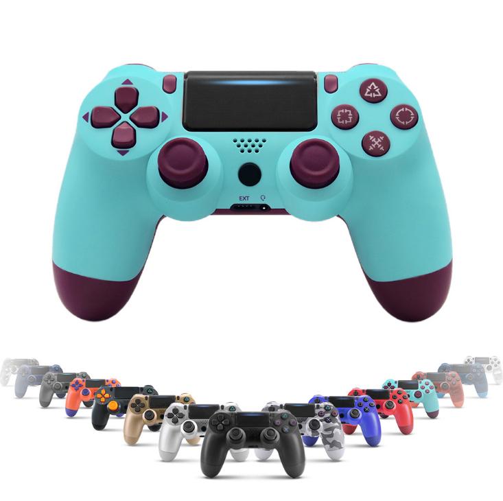 PS4游戏手柄二代带灯条蓝牙4.0新款无线手柄PS4蓝牙游戏手柄 1
