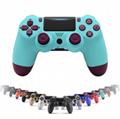 PS4遊戲手柄二代帶燈條藍牙4