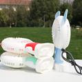 卡通电动风扇 usb锂电充电手持带灯小风扇带底座学生宿舍桌面风扇 8