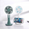 Cartoon electric fan Usb lithium battery charging handheld light fan Desktop fan