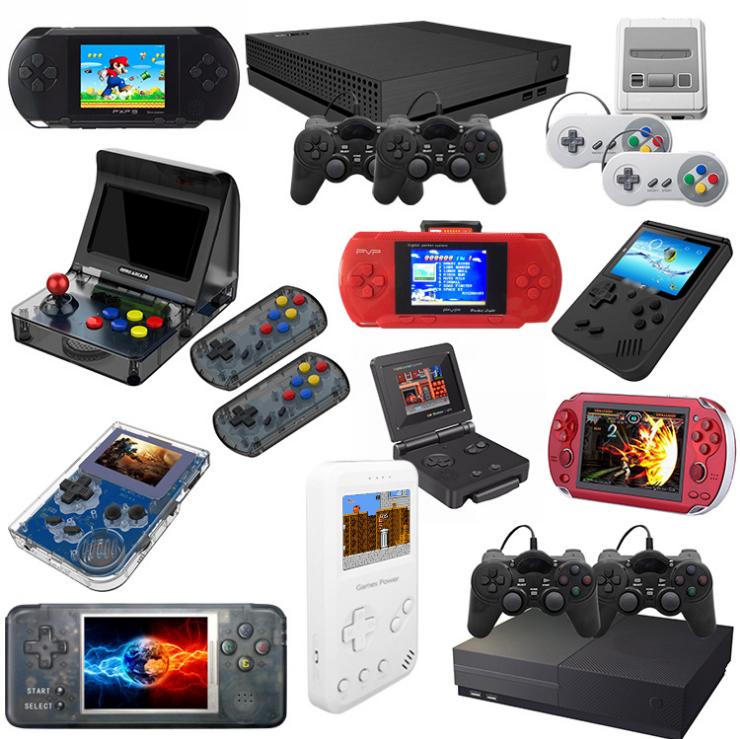 高清電視遊戲機 HDMI高清GBA遊戲機 600款街機GBA NES 1