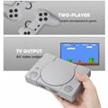 經典8位PS1迷你家用遊戲機 內置620款遊戲經典復古雙人對戰遊戲機 2