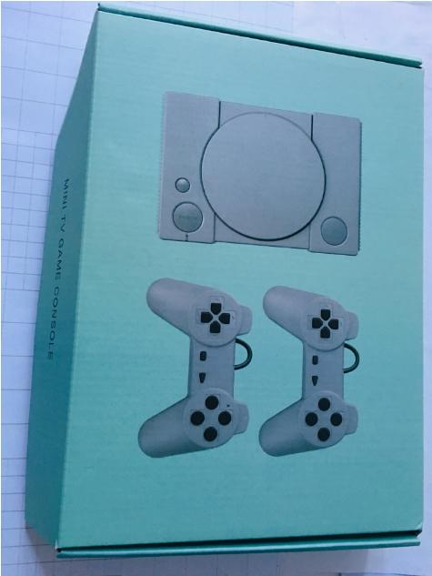 經典8位PS1迷你家用遊戲機 內置620款遊戲經典復古雙人對戰遊戲機 9